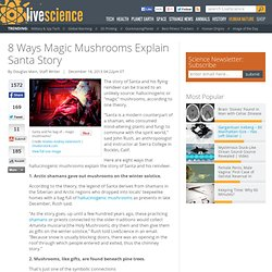 8 Ways Magic Mushrooms Explain Santa Story