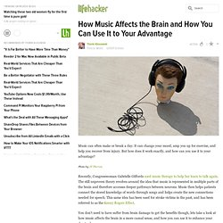 How Music Affects the Brain and How You Can Use It to Your Advantage
