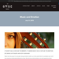 Music and Emotion — THE SYNC PROJECT
