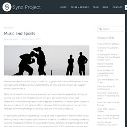 Music and Sports — SYNC PROJECT