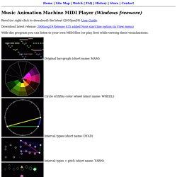Music Animation Machine MIDI Player