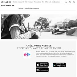 Music Maker JAM – l'application musicale