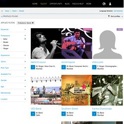 Music Bands Portfolios in India