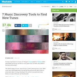 7 Music Discovery Tools to Find New Tunes