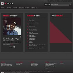 Welcome to eMusic - Discover, own and know more about the music
