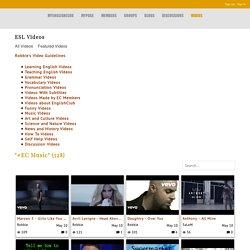 """#EC Music"" - ESL Videos - myEnglishClub"