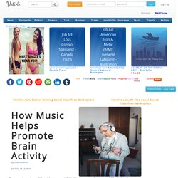 How Music Helps Promote Brain Activity