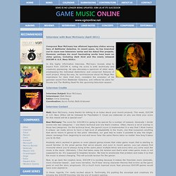 Interview with Bear McCreary (April 2011)