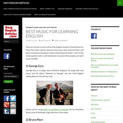 Best Music to Learn English