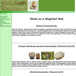 Music as a Magickal Tool