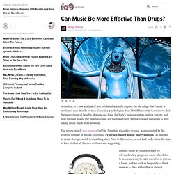 Can Music Be More Effective Than Drugs?