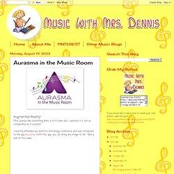 Aurasma in the Music Room