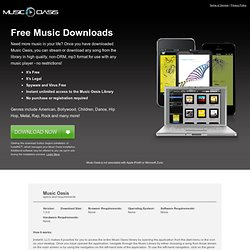 Music Oasis - Free Download