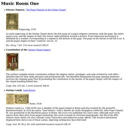 Music Room One