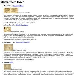 Music room three