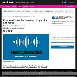 Free music samples: download loops, hits and multis