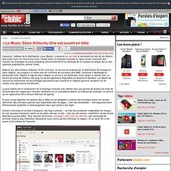 Le Music Store d'Ubuntu One est ouvert en bêta