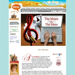 Music vs. Muse: Music to Write By