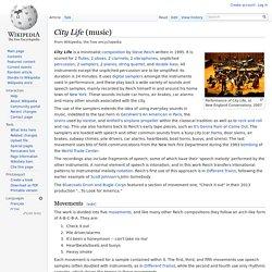 City Life (music)