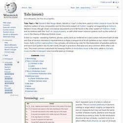 Tala (music)