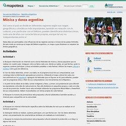 Música y danza argentina