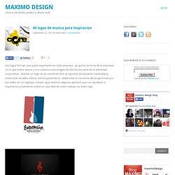45 logos de musica para inspiracion - Maximo Design