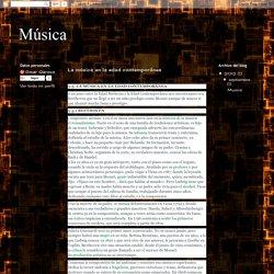 Música: La música en la edad contemporánea