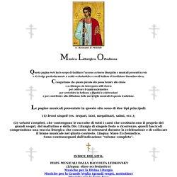 musica liturgica ortodossa