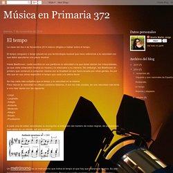 Música en Primaria 372: El tempo