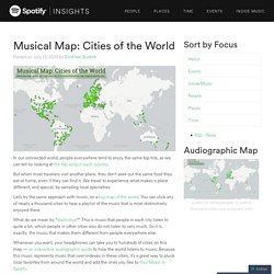 Musical Map: Cities of the World