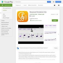 Dictado musical lite (App Android)