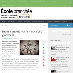 Les liens entre le rythme musical et la grammaire