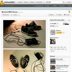 Musical MIDI Shoes