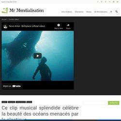 Ce clip musical splendide célèbre la beauté des océans menacés par le plastique
