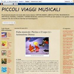 PICCOLI VIAGGI MUSICALI: Fiaba musicale: Pierino e il Lupo (1) - Animazione Disney