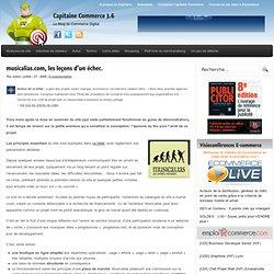 musicalias.com, les leçons d'un échec.