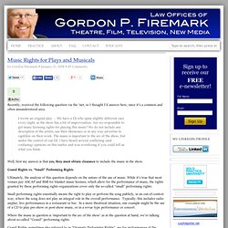 Law Offices of Gordon P. Firemark - Top Los Angeles Theatre & Film Entertainment Lawyer