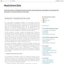 GRABACIÓN Y REPRODUCCIÓN DE AUDIO