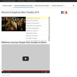 Musicas Evangelicas Mais Tocadas 2014 Mara no FM .com.br evangelicas mais tocadas