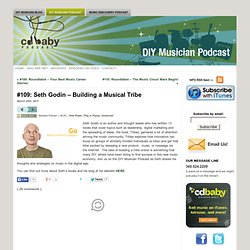 #109: Seth Godin – Building a Musical Tribe | CD Baby DIY Musician Podcast