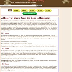 Music Musicians Bands Players Instruments Clubs Disco memories from The People History Site