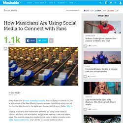 How Musicians Are Using Social Media to Connect with Fans