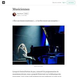 Musiciennes - Sarah Brault - Medium