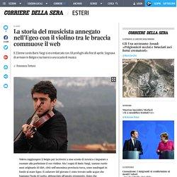 La storia del musicista annegato nell'Egeo con il violino tra le braccia commuove il web