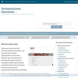 Musicovery.com - Musik-Suchmaschine für ähnliche Musik