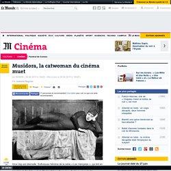 Musidora, la catwoman du cinéma muet