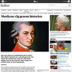Musikens väg genom historien