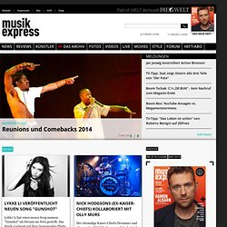 Home | Musikexpress.de
