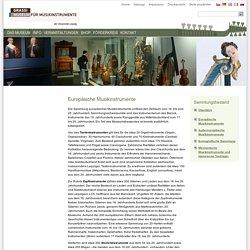 Museum für Musikinstrumente der Universität Leipzig - Museum für Musikinstrumente