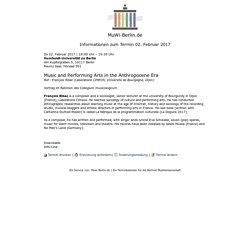 Ein Terminkalender f�r die Berliner Musikwissenschaft